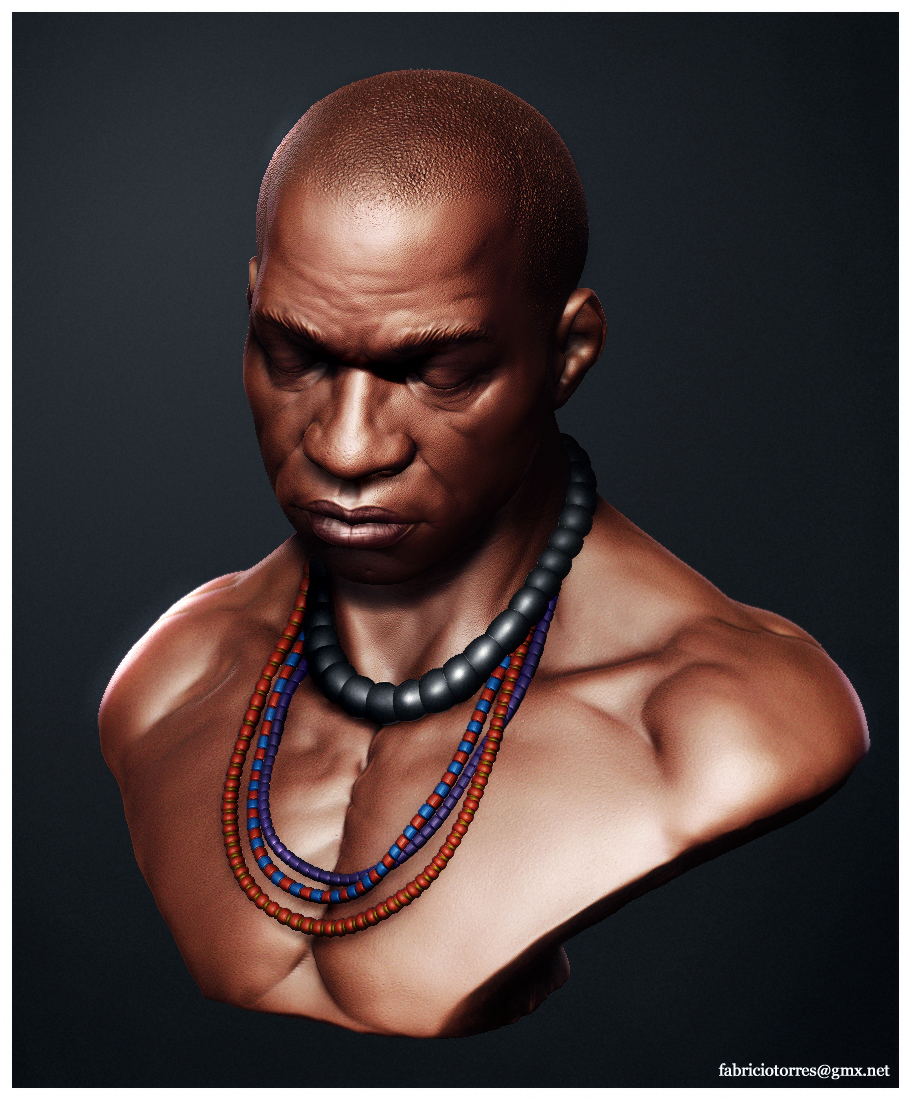 Http Fabriciotorres Wordpress Com 2008 04 02 African Male Bust